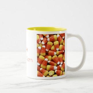 Taza del personalizable de las pastillas de carame