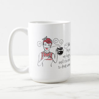 Taza del personalizable del café y del vino del