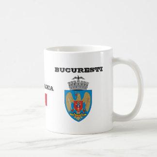 Taza del personalizado de Bucharest* Rumania