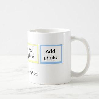 Taza del personalizado de cuatro fotos