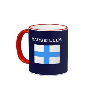 Taza del personalizado de Marsella Francia