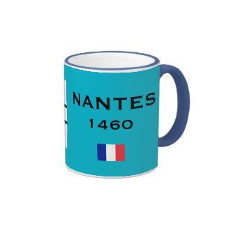 Taza del personalizado de Nantes Francia