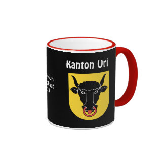 Taza del personalizado de SUIZA Kanton Uri*