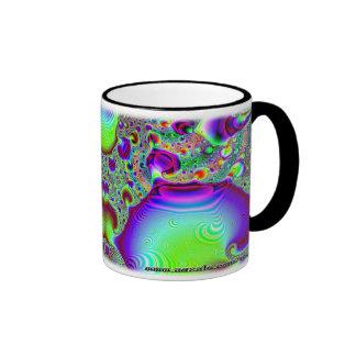 Taza del personalizado del fractal C~09