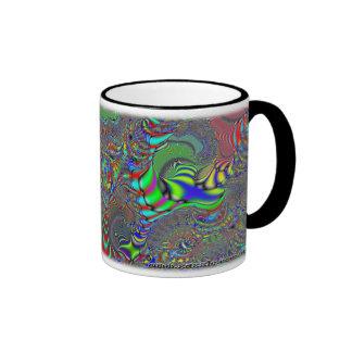 Taza del personalizado del fractal C~16