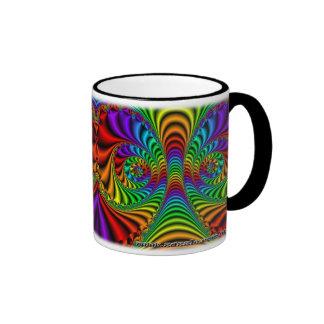 Taza del personalizado del fractal R~08