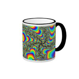 Taza del personalizado del fractal R~15