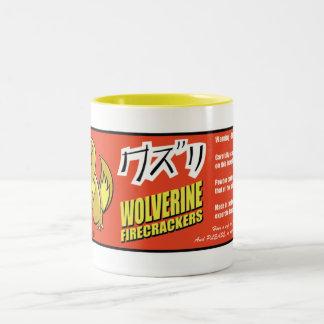 Taza del petardo de Kuzuri (Wolverine)