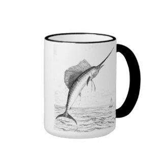 Taza del pez volador