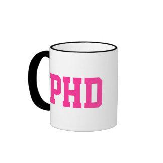 Taza del PhD