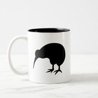 Taza del pictograma del kiwi