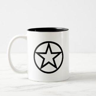 """Taza del pictograma del """"paganismo"""""""