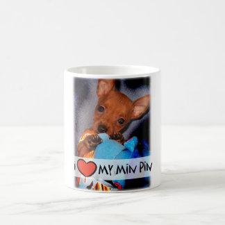 Taza del Pinscher miniatura