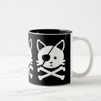 Taza del pirata del gato