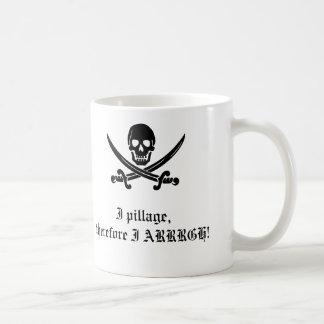 Taza del pirata: Pienso, por lo tanto soy 2