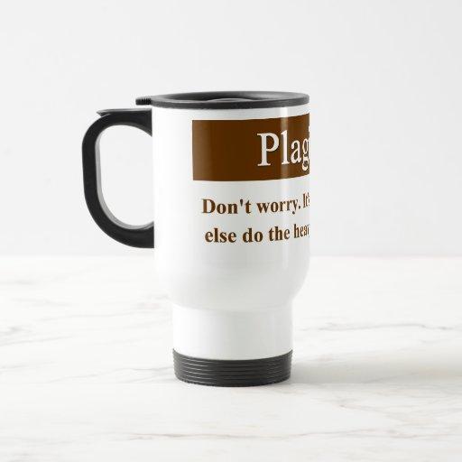 Taza del plagio