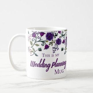 Taza del planeamiento del boda, taza del regalo