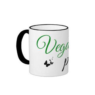 Taza del poder del vegano