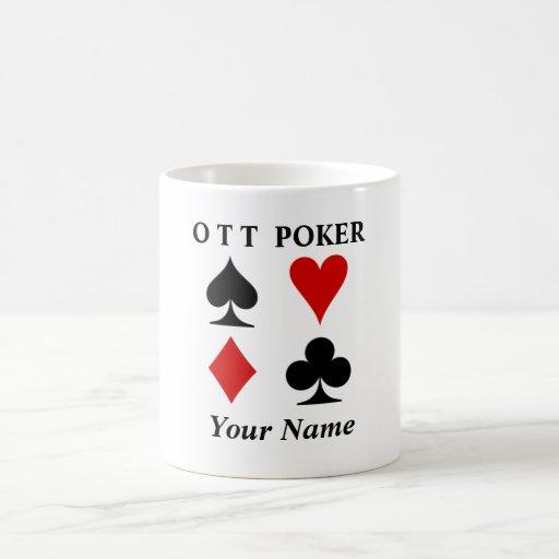 Taza del póker