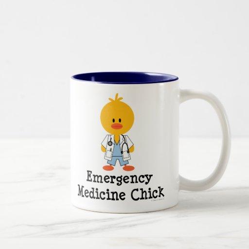 Taza del polluelo de la medicina de la emergencia
