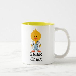 Taza del polluelo de PM&R