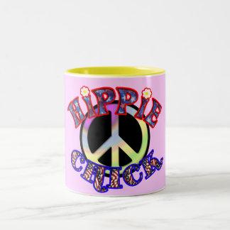 Taza del polluelo del Hippie