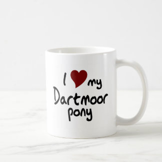 Taza del potro de Dartmoor