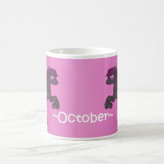 Taza del potro de octubre Birthstone Pegaso