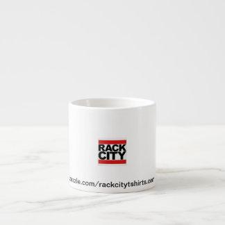 Taza del producto de la ciudad del estante taza espresso