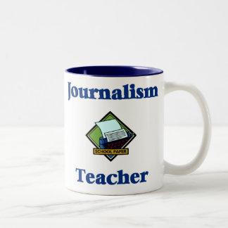 Taza del profesor del periodismo