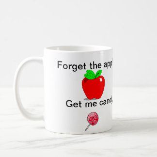 Taza del profesor - olvide Apple