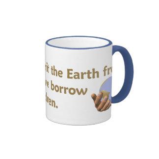 Taza del proverbio de la tierra