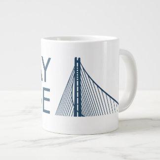 Taza del puente de la bahía taza jumbo