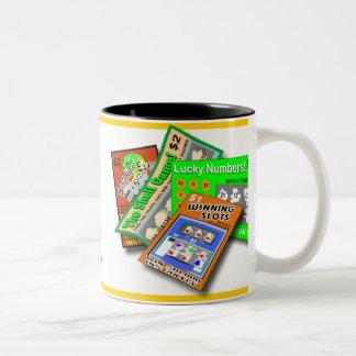 Taza del Rasguño-Apagado de la lotería