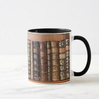 Taza del ratón de biblioteca