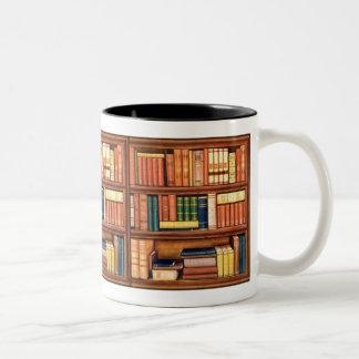 Taza del ratón de biblioteca de la biblioteca de