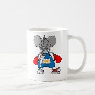 Taza del ratón de Mike de los ratones del boxeador