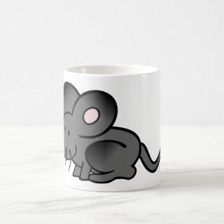 Taza del ratón del dibujo animado