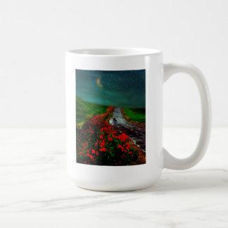 Taza del recogedor de la amapola