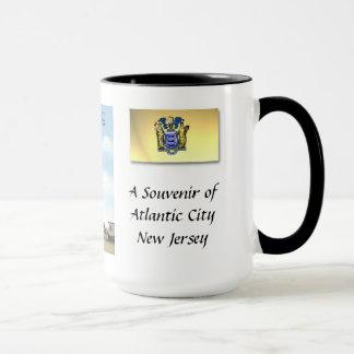Taza del recuerdo - Atlantic City NJ