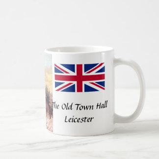 Taza del recuerdo - ayuntamiento viejo, Leicester