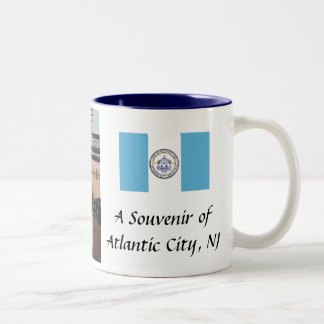 Taza del recuerdo de Atlantic City