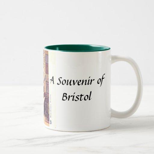Taza del recuerdo de Bristol