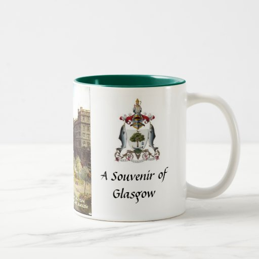 Taza del recuerdo de Glasgow