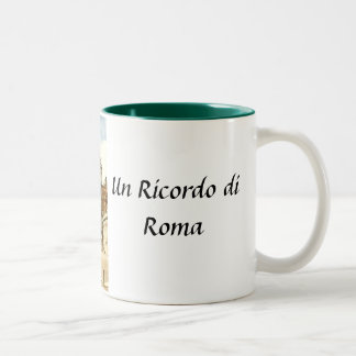 Taza del recuerdo de Roma