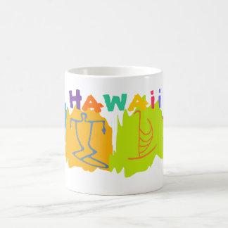 Taza del recuerdo del viaje de Hawaii