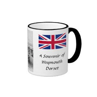 Taza del recuerdo - Weymouth, Dorset