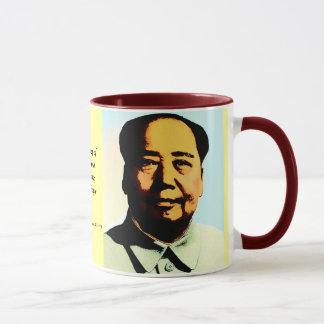 Taza del regalo de la cita de Mao