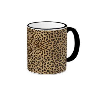 Taza del regalo de la impresión del guepardo