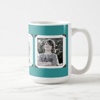Taza del regalo de la Multi-Foto del trullo para